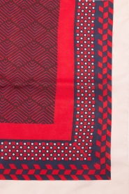 Becksöndergaard |  Scarf Herriot | red  | Picture 4