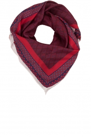 Becksöndergaard |  Scarf Herriot | red  | Picture 5