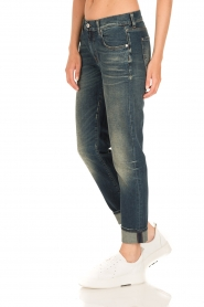 7 For All Mankind | Girlfriend jeans The Relaxed Skinny | blauw  | Afbeelding 4