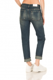 7 For All Mankind | Girlfriend jeans The Relaxed Skinny | blauw  | Afbeelding 5