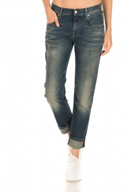 7 For All Mankind | Girlfriend jeans The Relaxed Skinny | blauw  | Afbeelding 2