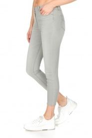 ELISABETTA FRANCHI | Stretch mid-rise jeans | lichtgrijs  | Afbeelding 4