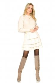 Patrizia Pepe |  Suede knee boots Sarella | beige  | Picture 2