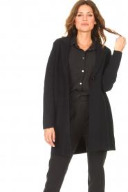 Knit-ted |  Blazer cardigan Sammie | black  | Picture 5
