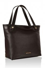 Leather shoulder bag Hyland | black
