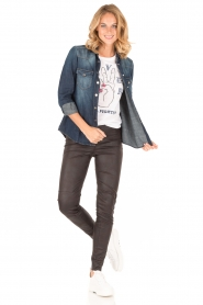 7 For All Mankind |  Denim blouse Western | blue  | Picture 7