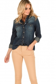 7 For All Mankind |  Denim blouse Western | blue  | Picture 2