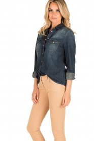 7 For All Mankind |  Denim blouse Western | blue  | Picture 4