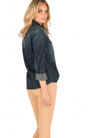 7 For All Mankind |  Denim blouse Western | blue  | Picture 5