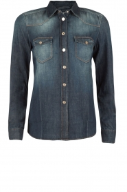 7 For All Mankind |  Denim blouse Western | blue  | Picture 1