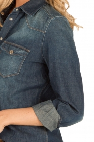 7 For All Mankind |  Denim blouse Western | blue  | Picture 8