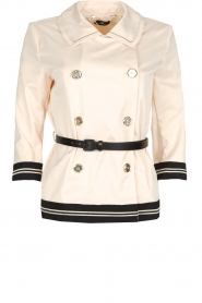 ELISABETTA FRANCHI |  Trench coat Julee | natural  | Picture 1