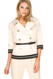 ELISABETTA FRANCHI |  Trench coat Julee | natural  | Picture 7