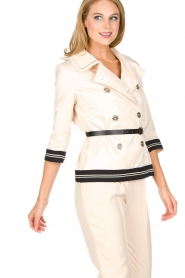 ELISABETTA FRANCHI |  Trench coat Julee | natural  | Picture 9