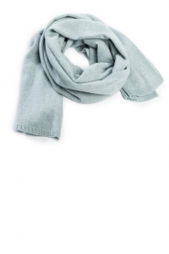 Knit-ted |  Knitted scarf Robine | blue  | Picture 1