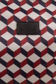 Becksöndergaard | Tas Relyea Cube | blauw/rood  | Afbeelding 5