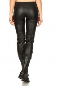 Patrizia Pepe |  Faux leather pants Misty | black  | Picture 6