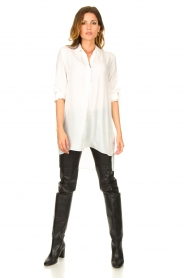Patrizia Pepe |  Faux leather pants Misty | black  | Picture 3