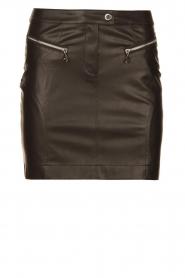 Patrizia Pepe    Faux leather skirt Caro   black    Picture 1