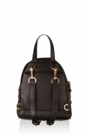 MICHAEL Michael Kors |  Leather backpack Rhea Zip | black  | Picture 4