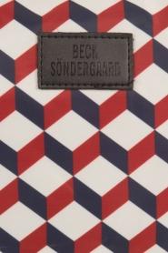Becksöndergaard | Toilettas Louella Cube | blauw/rood  | Afbeelding 5