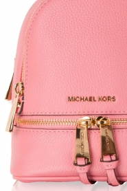 MICHAEL Michael Kors | Leren Mini rugzak Rhea Zip | roze   | Afbeelding 5