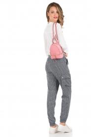 MICHAEL Michael Kors | Leren Mini rugzak Rhea Zip | roze   | Afbeelding 2