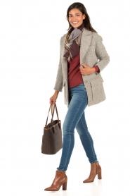 MICHAEL Michael Kors | Skinny jeans Selma lengtemaat 32 | blauw  | Afbeelding 3