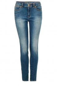 MICHAEL Michael Kors | Skinny jeans Selma lengtemaat 32 | blauw  | Afbeelding 1