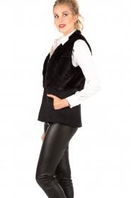 MICHAEL Michael Kors | Gilet Foxy | zwart  | Afbeelding 4