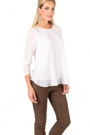 MICHAEL Michael Kors | Top Pleasant | wit  | Afbeelding 4