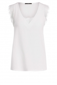 Set |  Top with lace details Aalia | white  | Picture 1