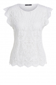 Set |  Lace top Abbey | white  | Picture 1