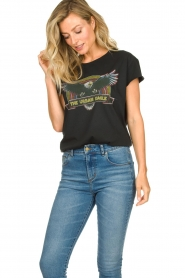 Set    Cotton T-shirt with print Adeline   black    Picture 3