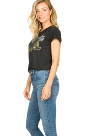 Set    Cotton T-shirt with print Adeline   black    Picture 4