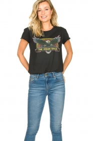 Set    Cotton T-shirt with print Adeline   black    Picture 2