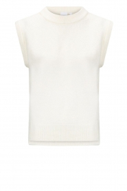Knit-ted |  Knitted spencer Tess | ivory   | Picture 1