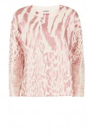Essentiel Antwerp | Trui Lasya Print | roze  | Afbeelding 1
