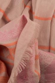 Becksöndergaard | Sjaal Sathonay | roze  | Afbeelding 3