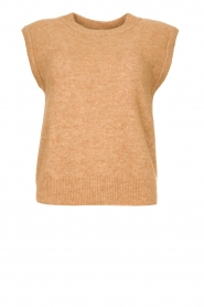 Knit-ted |  Knitted spencer Tess | camel  | Picture 1