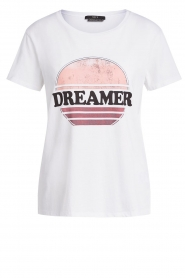 Set |  Cotton T-shirt with print Aella | white  | Picture 1