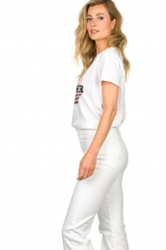 Set |  Cotton T-shirt with print Aella | white  | Picture 5