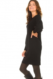 Knit-ted |  Knitted dress Julia | black  | Picture 5