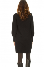 Knit-ted |  Knitted dress Julia | black  | Picture 6