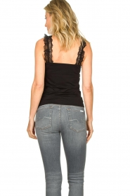 Set |  Sleeveless top with ruffles Aivey | black  | Picture 5