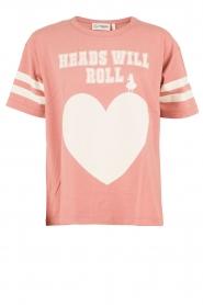 Essentiel Antwerp | T-shirt Loucas | roze  | Afbeelding 1