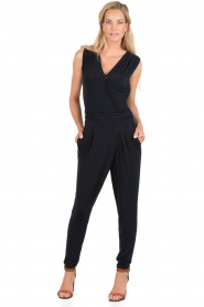 MICHAEL Michael Kors | Jumpsuit Frame | donkerblauw  | Afbeelding 2