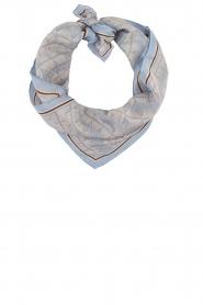 Becksöndergaard | Zijden sjaal Tantine | blauw  | Afbeelding 1