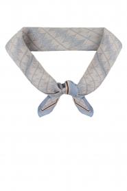 Becksöndergaard | Zijden sjaal Tantine | blauw  | Afbeelding 3