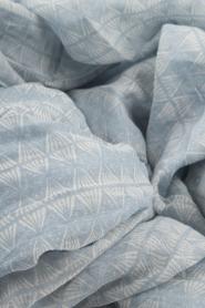 Becksöndergaard | Zijden sjaal Tantine | blauw  | Afbeelding 5